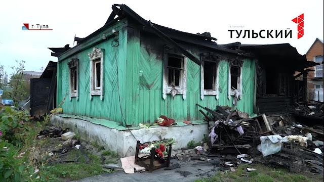 Москвичка умерла, пытаясь спасти кошку из горящего дома