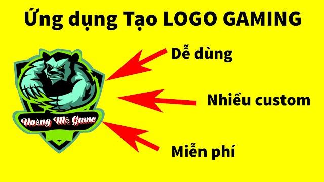 Ứng dụng tạo logo gaming, logo lớp, logo team cực đẹp cho điện thoại Android