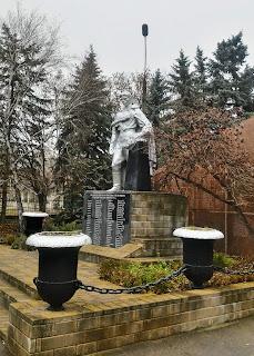 Шебельківка, Донецька обл. Військовий меморіал