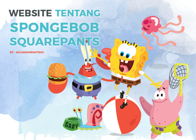 Website Tentang Spongebob Squarepants