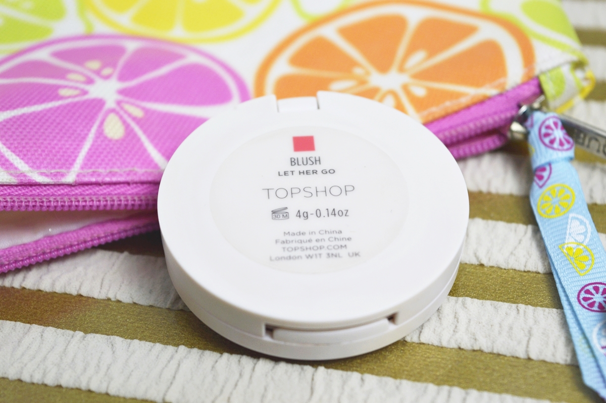 What's in my BeautyBag Topshop blush