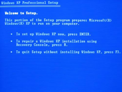 How to install windows XP in less than 15 minutes
