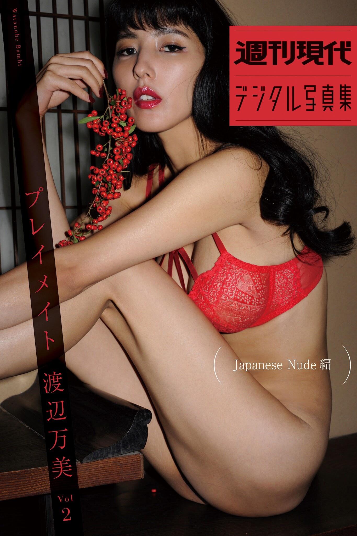 All Nude 羽 咲 みはる 週刊現代デジタル写真集 『プレイメイト 渡辺万美 vol.2