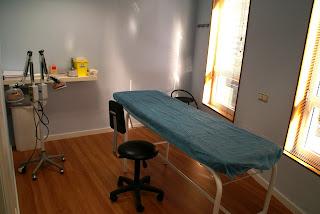 Habitació pascients Centre terapèutica Joan Vinyals acupuntura manresa