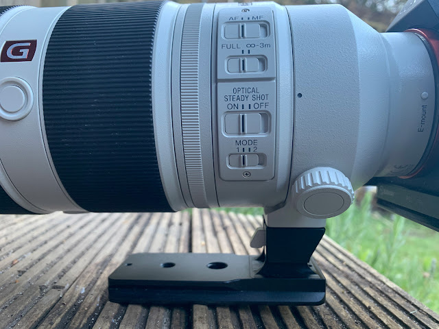 Lens barrel functions explained for 100-400mm zoom