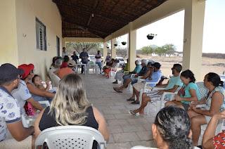 Assentamentos do Seridó paraibano recebem gabinete itinerante do Incra/PB