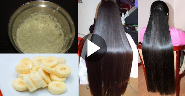 How To Straight Hair At Home With Natural Ingredients!