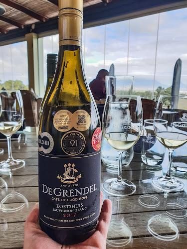 #WineRoutingWithLloyd De Grendel Koetshuis Sauvignon Blanc