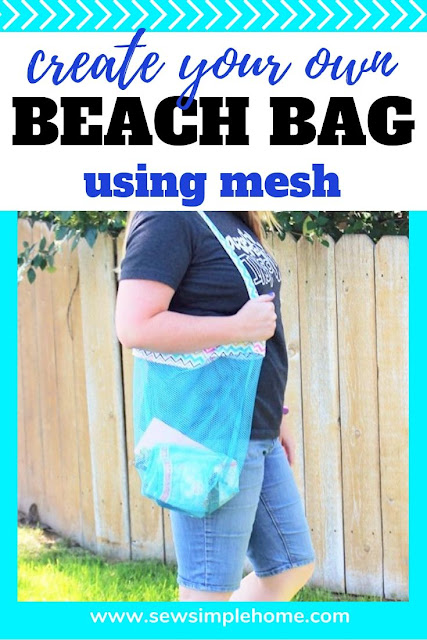 Create your own beach tote bag with this free pattern