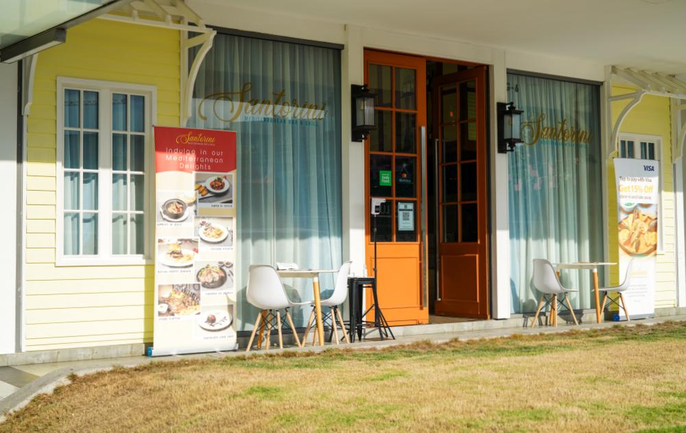 santorini mediterranean bar & grill, bukit bintang