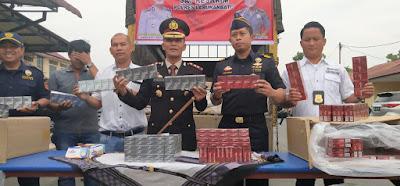 Bravo Polres Labuhanbatu Kembali Amankan Satu Colt Diesel Rokok Luffman