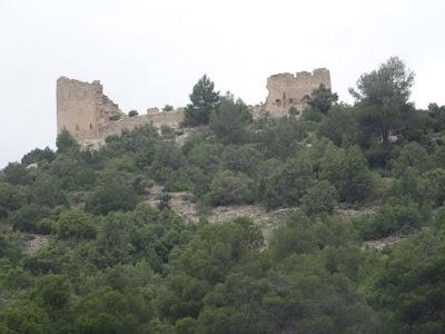 Beseit, Fortins de Cabrera, fortines de Ramón Cabrera , Beceite, ruinoso, fuertes de Cabrera