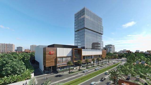 Downtown Center vista Este-Oeste