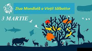 3 martie: Ziua Mondială a Vieții Sălbatice