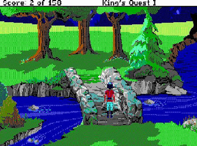 Videojuego King's Quest I - Quest For The Crown
