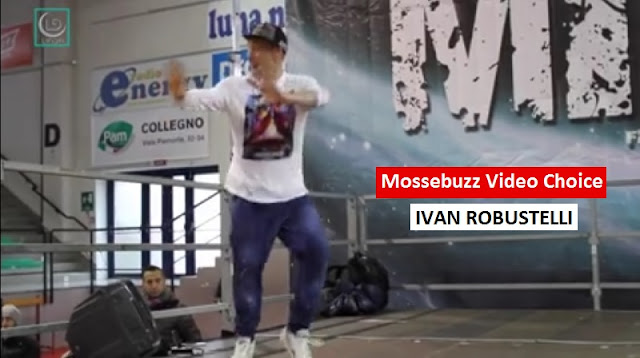 Ivan Robustelli, house dance a Torino, MIB Fitness Convention 2016