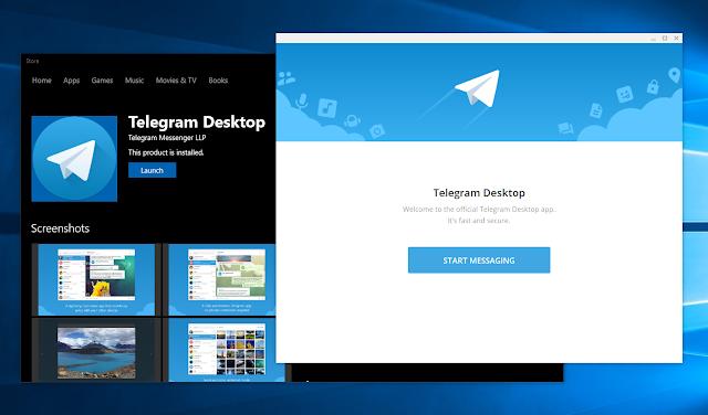 Telegram and features