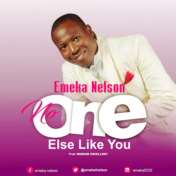 No one else like you by Emeka Nelson prod by Wisdom Excellent