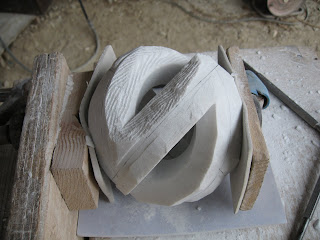 The making of sculpture Rotation9