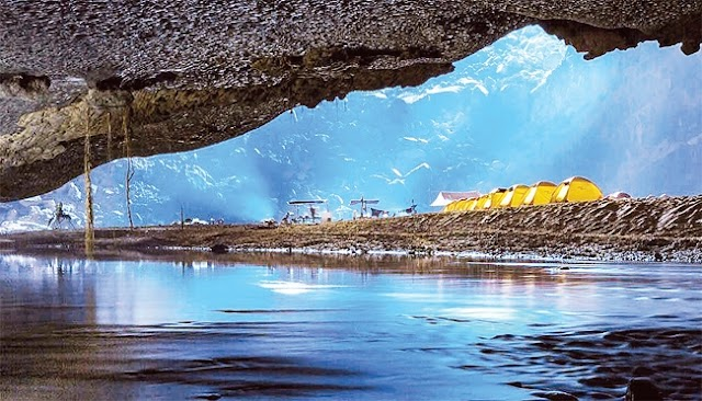 Attractive destination of adventure travel and experience