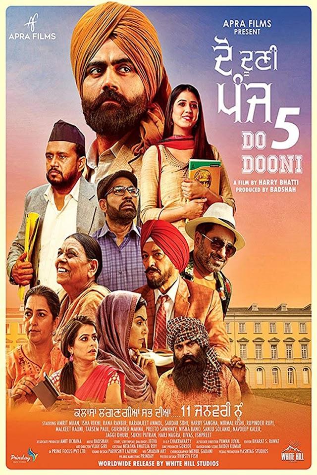Do Dooni Panj 2019 x264 720p TV-RIP HCEsub Punjabi THE GOPI SAHI