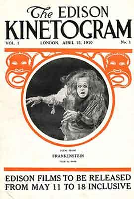 Frankenstein 1910 la primera versión cinematográfica de la novela de Mary Shelly
