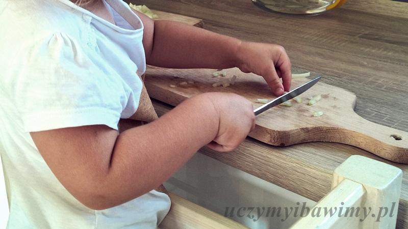 życie praktyczne - montessori - krojenie