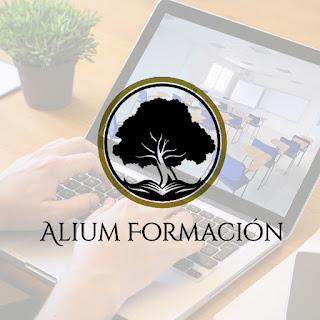 Imagen corporativa para ALIUM Formación