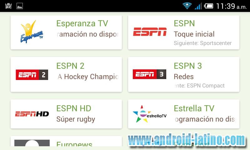 tv player latino apk para pc