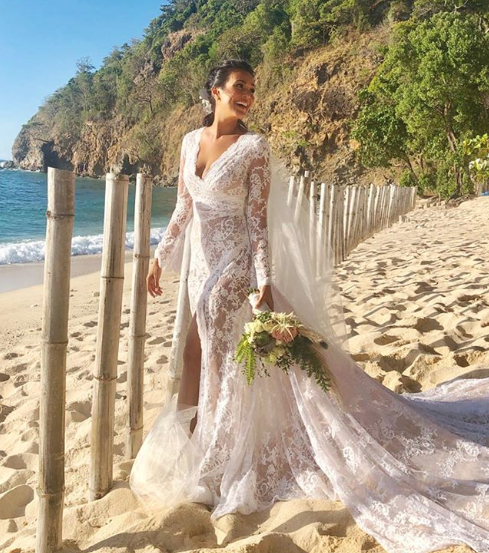 Iza Calzado Tied the Knot With Her British Boyfriend Ben Wintle