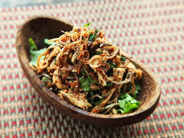 Banana Flower Salad - Typical Dishes Of Rural Vietnam 1