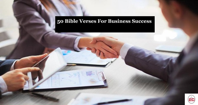 Bible Verses For Business Success
