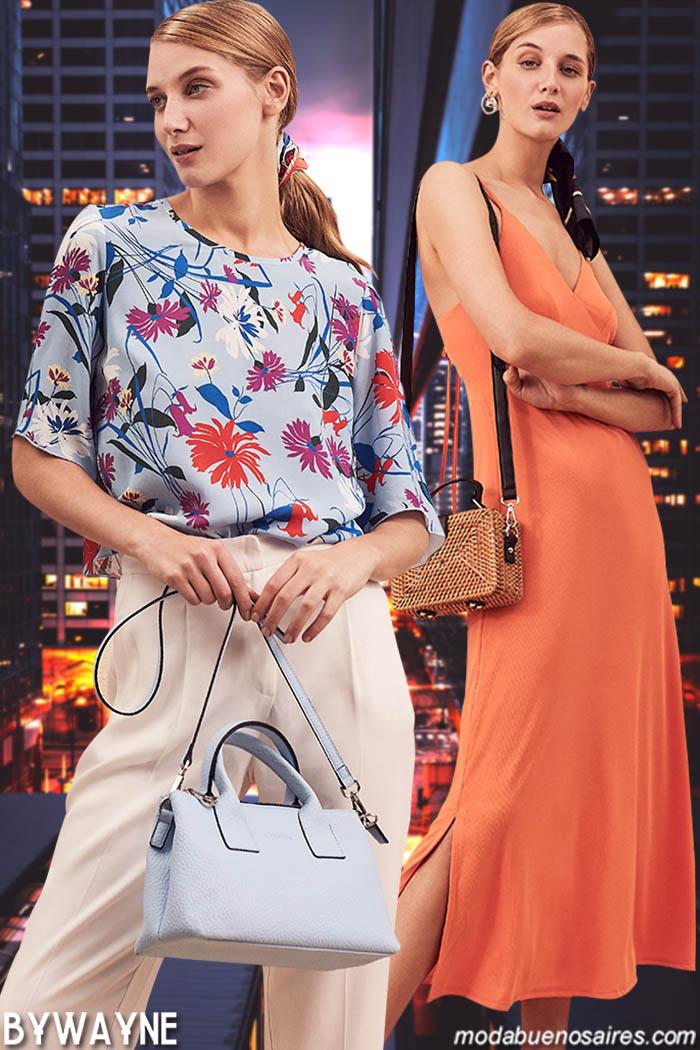 Ropa de mujer de moda primavera verano 2020.