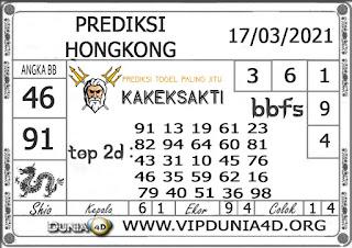 Prediksi Togel HONGKONG DUNIA4D 17 MARET 2021