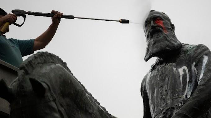 A gyarmatosító uralkodó, II. Lipót szobrait távolították el a hétvégén Belgiumban