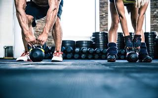 Pesas y ejercicio de fuerza