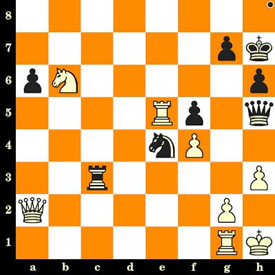 Les Noirs jouent et matent en 3 coups - Bent Larsen vs Miguel Najdorf, Lugano, 1968