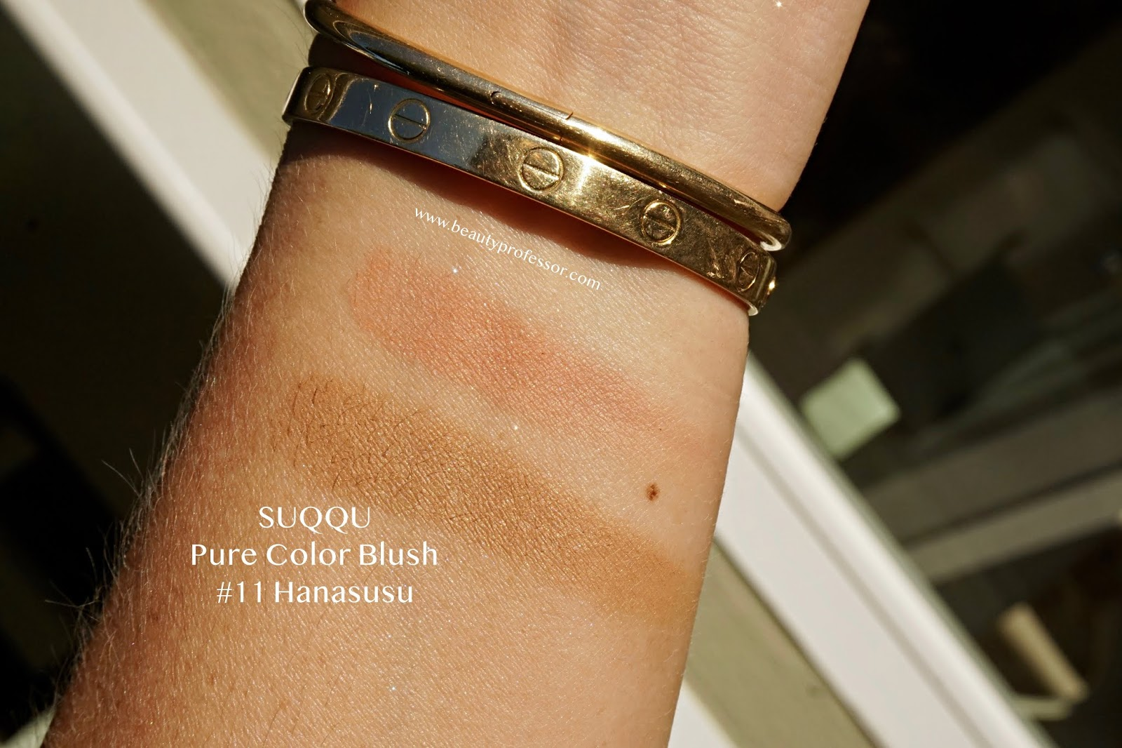 SUQQU Pure Colour Blush Blusher #11 Hanasusu swatches