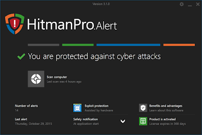 HitmanPro Alert 3.7.8 Build 750 Full indir