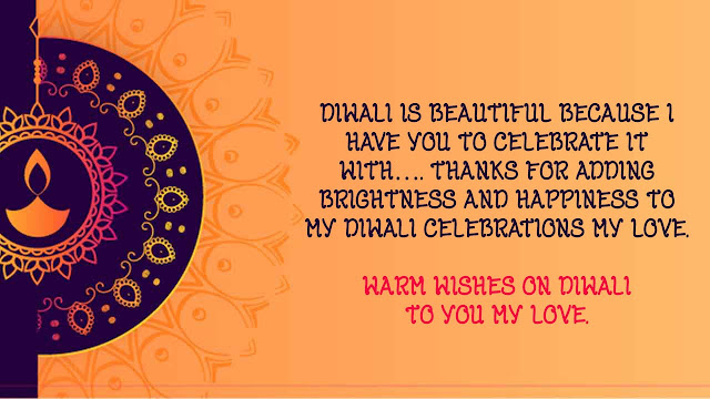 Diwali wishes images for Love