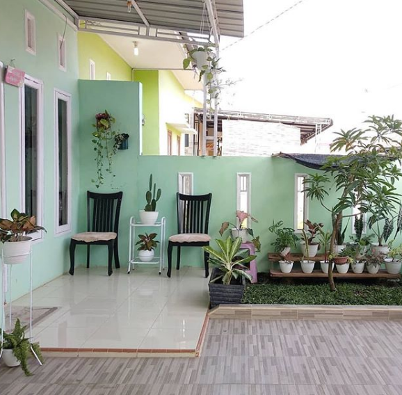 Model Teras Depan Rumah Minimalis Kecil Terbaru 2019