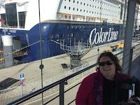 Gro Jeanette med Color Line i Kiel!