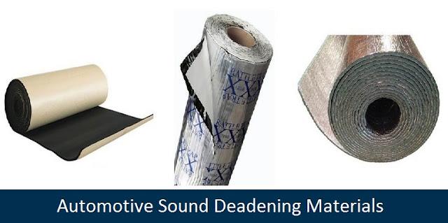 Automotive Sound Deadening Material Insulation
