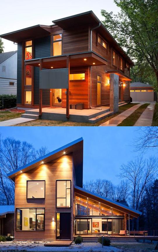 Beberapa Model Rumah Kayu Modern | Desain Rumah Minimalis