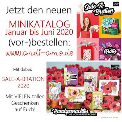 Katalogbestellung Stampin Up
