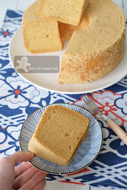 kinako chiffon cake