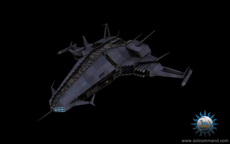 Cobra interceptor spaceship free download 3d model solcommand original design concept low poly game ready textured fighter combat warship police military pirate raider hunter tracker