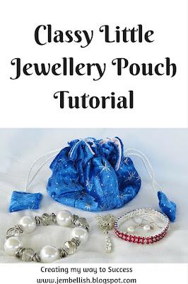 Classy Little Jewellery Pouch