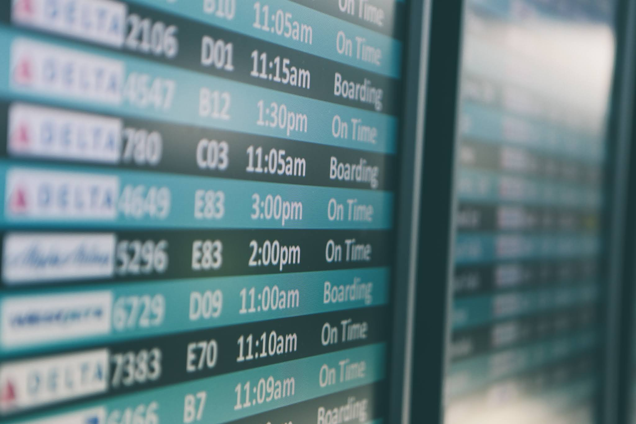 Flight Boarding Satus
