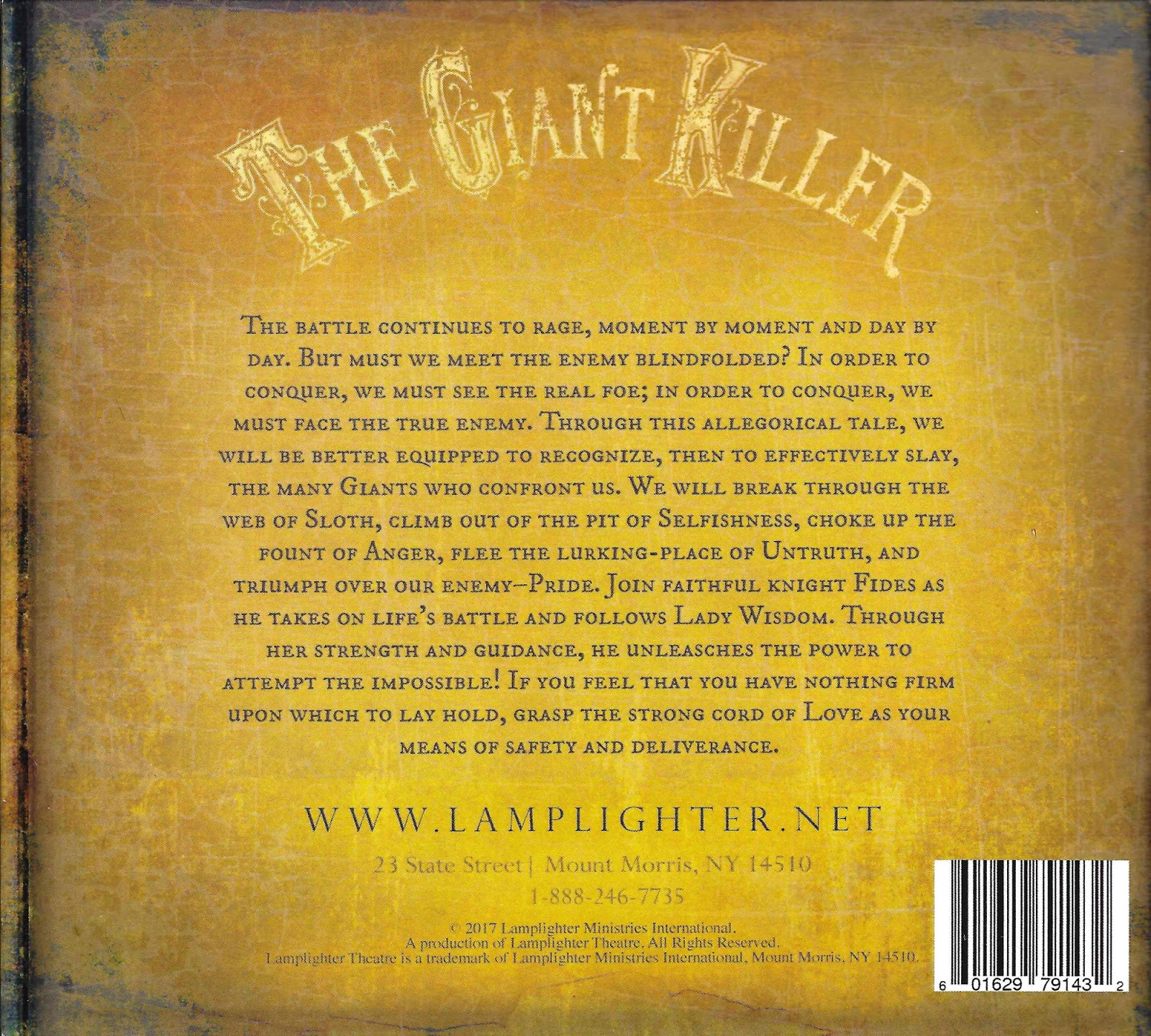 ATC104: Review Of The Giant Killer From Lamplighter